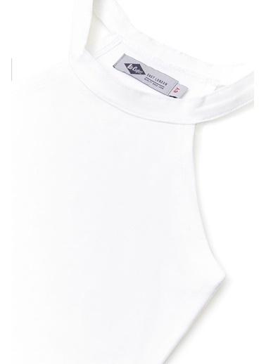 Lee Cooper Kız Çocuk Ekru T-Shirt Ekru